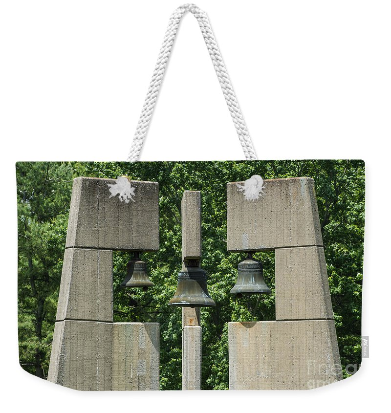 Bell Tower Weekender Tote Bag featuring the photograph Bell Tower by John Greim