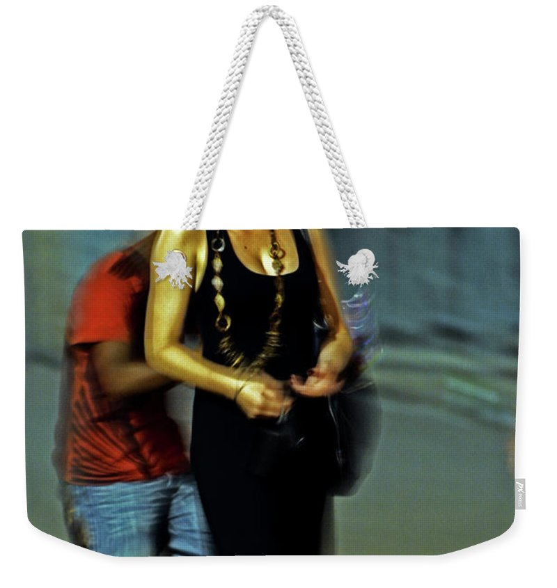Woman Weekender Tote Bag featuring the photograph Bella by La Dolce Vita