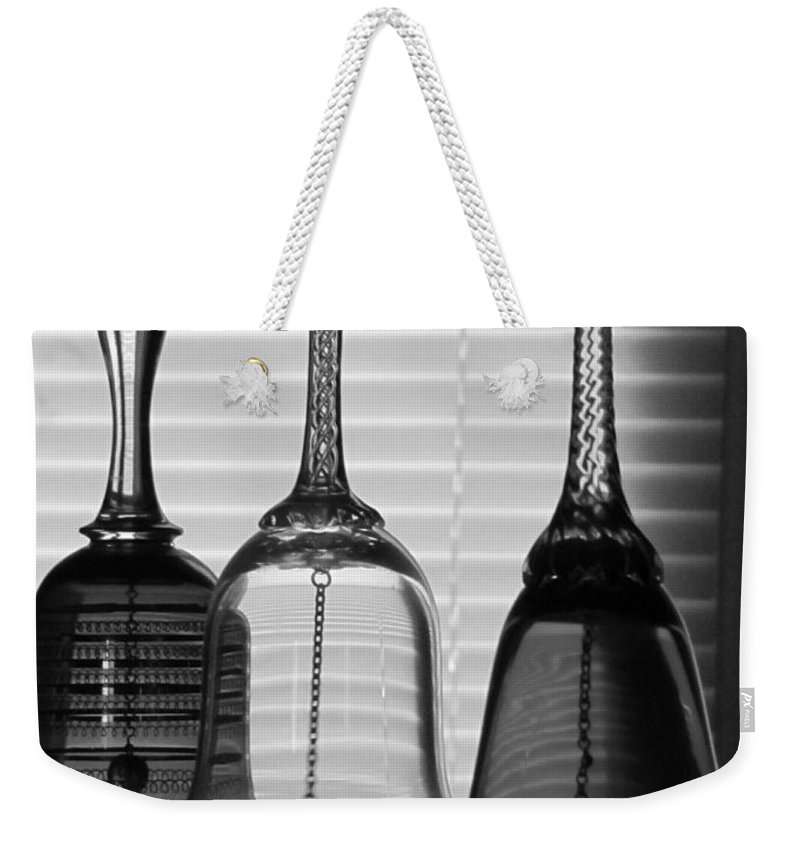 Bells Weekender Tote Bag featuring the photograph Bells by Michelle Powell