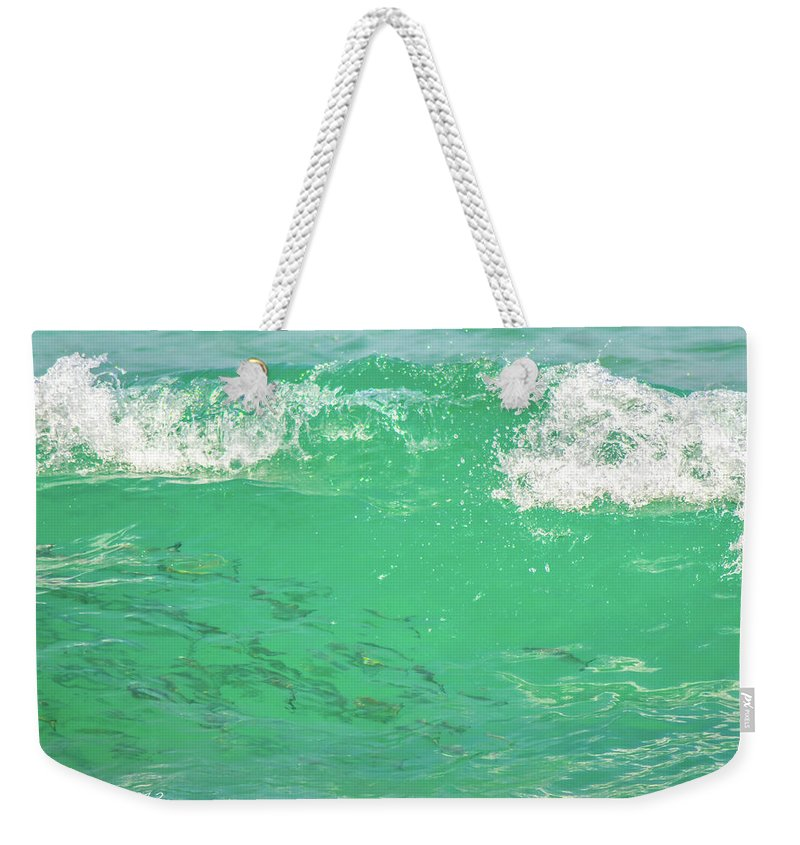 Fish Weekender Tote Bag featuring the photograph Beneath The Waves by Shannon Harrington
