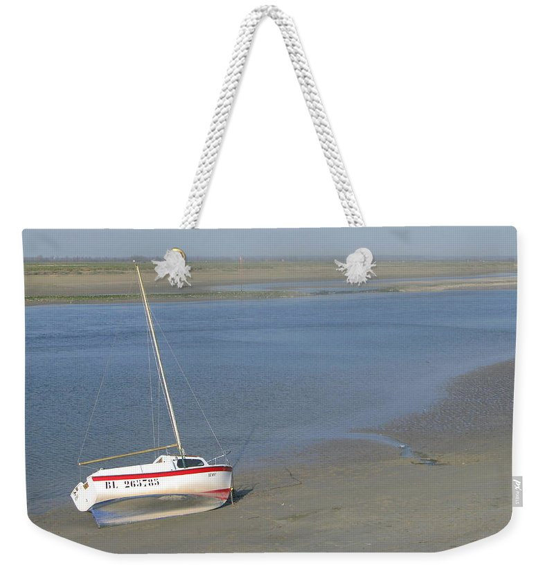 St Valery Weekender Tote Bag featuring the photograph Benny by Maria Joy