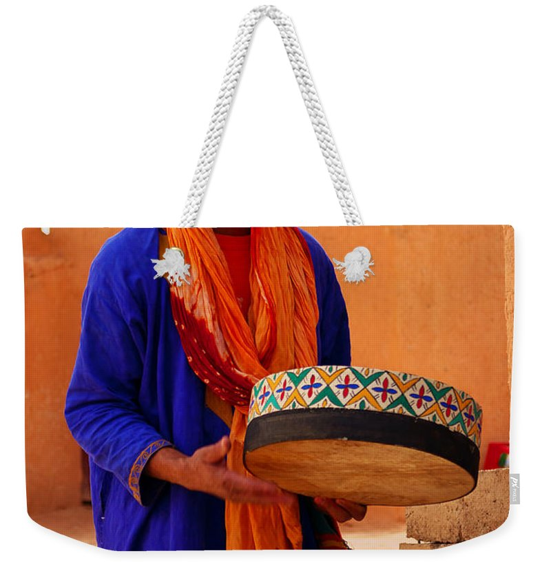 Weekender Tote Bag featuring the photograph Berber by Ivan Slosar