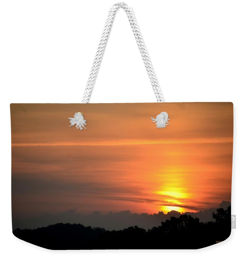 Beulah Weekender Tote Bag featuring the photograph Beulah Land by Maria Urso