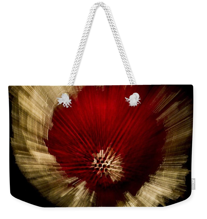 Fine Art Photography Weekender Tote Bag featuring the photograph Big Bang by Frederic A Reinecke