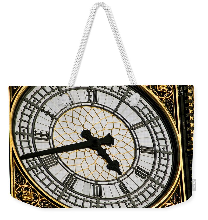 united Kingdom Weekender Tote Bag featuring the photograph Big Ben by Mary Lane