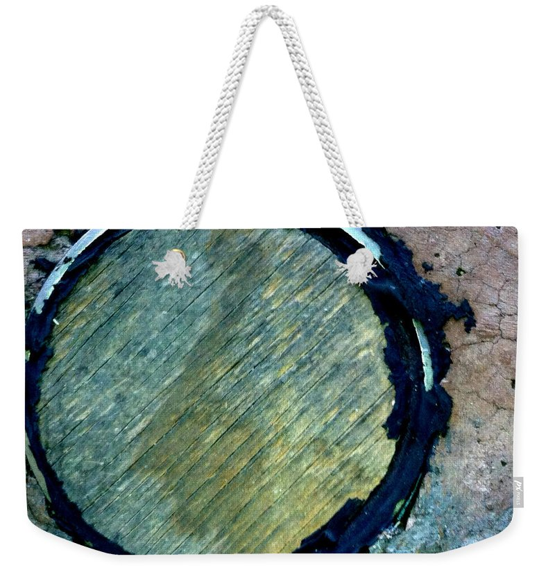 Metal Plate Weekender Tote Bag featuring the photograph Big O Too by Marlene Burns