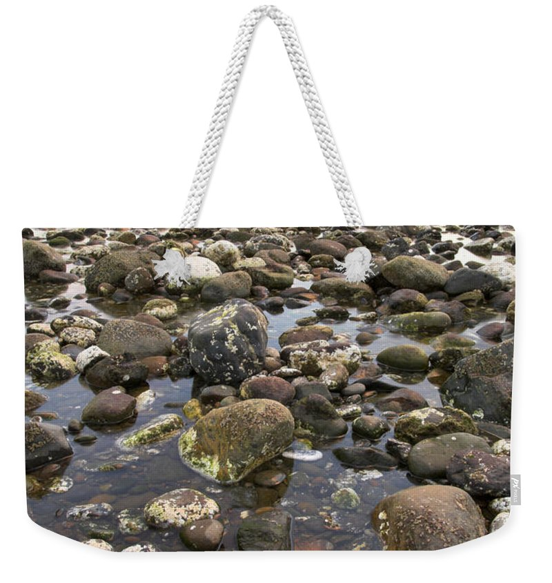 Seascape Weekender Tote Bag featuring the photograph Big Rocks by Guido Montanes Castillo