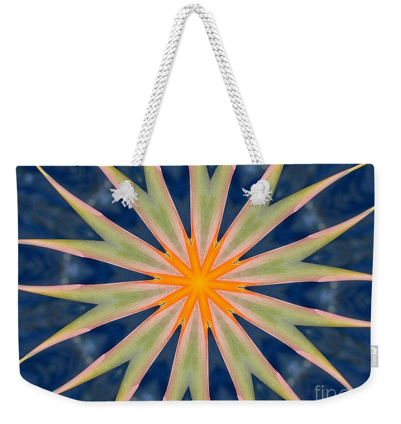 Kaleidoscope Weekender Tote Bag featuring the photograph Bird Of Paradise by Mark Gilman