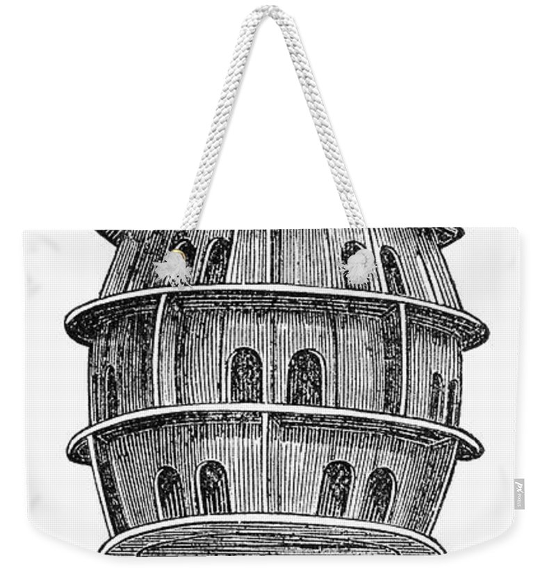 19th Century Weekender Tote Bag featuring the photograph Birdhouse, 19th Century by Granger