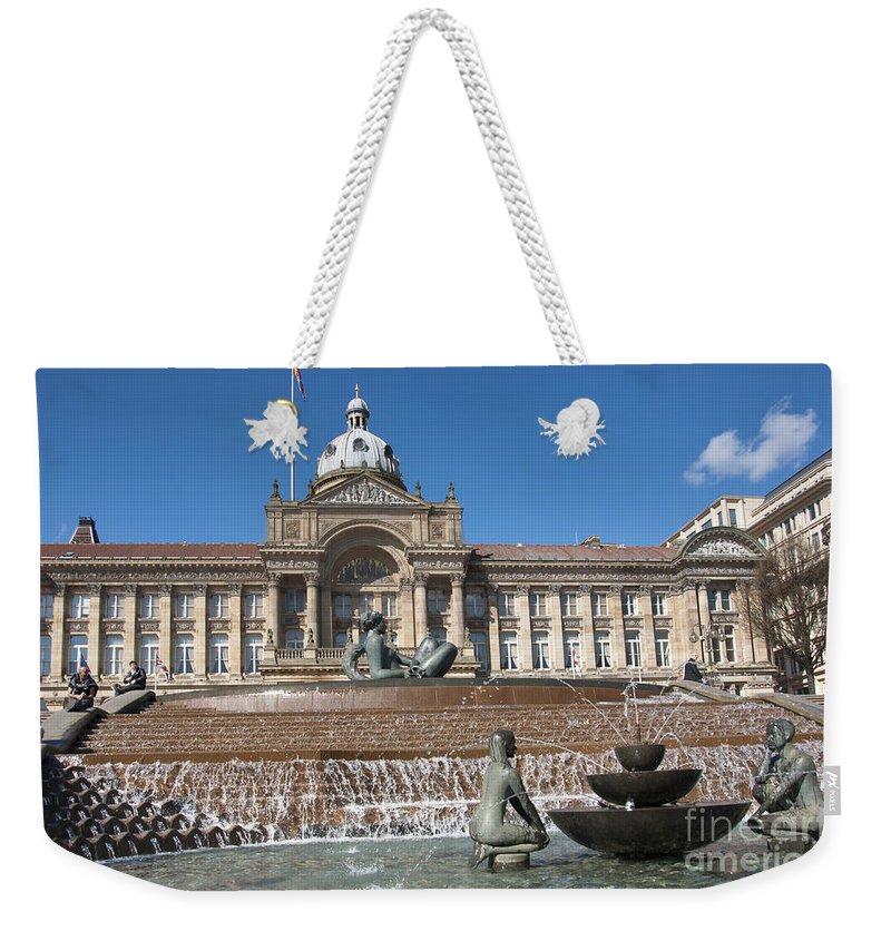 Birmingham Weekender Tote Bag featuring the photograph Birmingham Landmark by Andrew Michael
