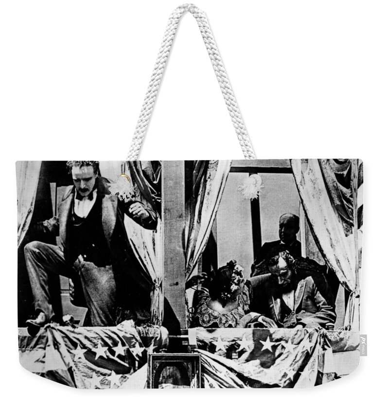1915 Weekender Tote Bag featuring the photograph Birth Of A Nation, 1915 by Granger