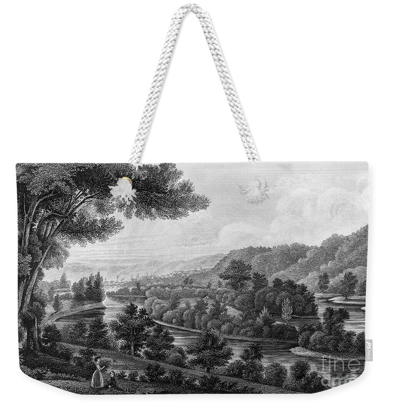 1850 Weekender Tote Bag featuring the photograph Blennerhassett Island by Granger