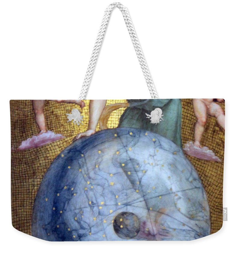 Blue Weekender Tote Bag featuring the photograph Blue Earth by Munir Alawi