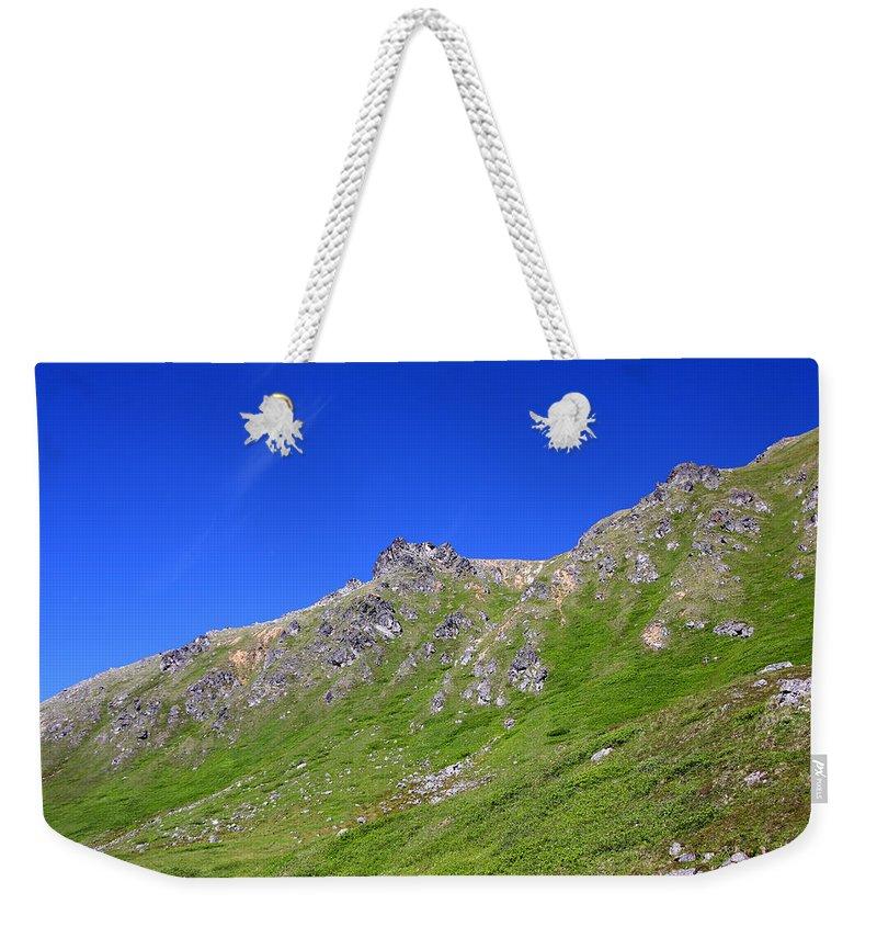 Doug Lloyd Weekender Tote Bag featuring the photograph Blue Sky's by Doug Lloyd