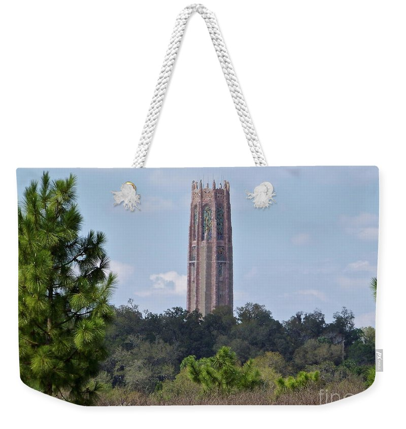 Bok Weekender Tote Bag featuring the photograph Bok Tower by Carol Bradley