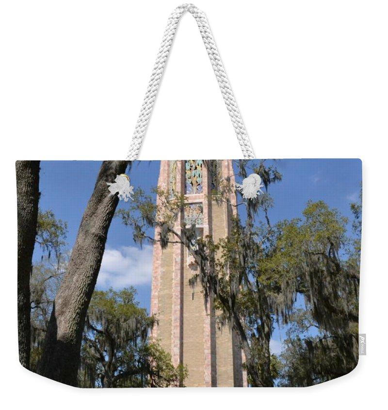 Bok Weekender Tote Bag featuring the photograph Bok Tower Gardens by Carol Bradley