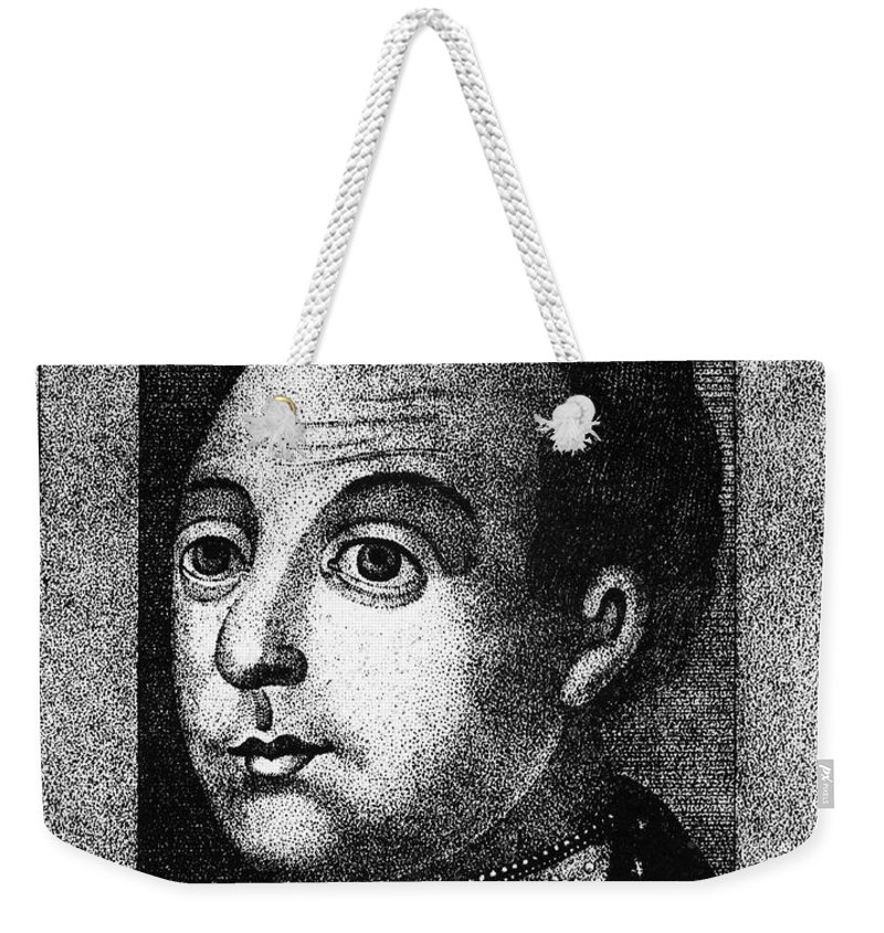 1590s Weekender Tote Bag featuring the photograph Boris Godunov (c1551-1605) by Granger