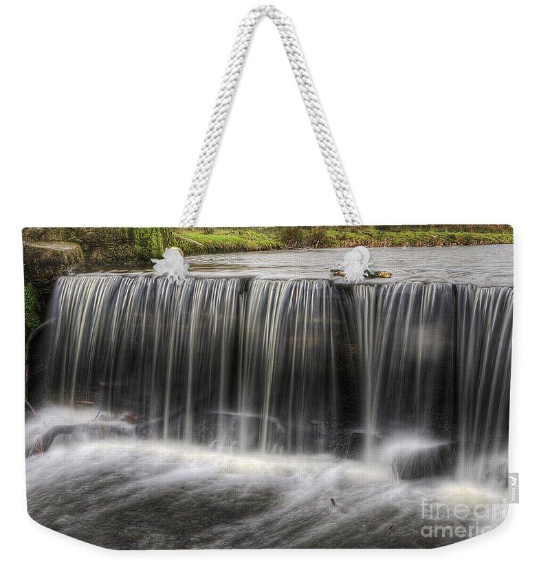 Waterfalls Weekender Tote Bag featuring the photograph Waterfalls by Yhun Suarez
