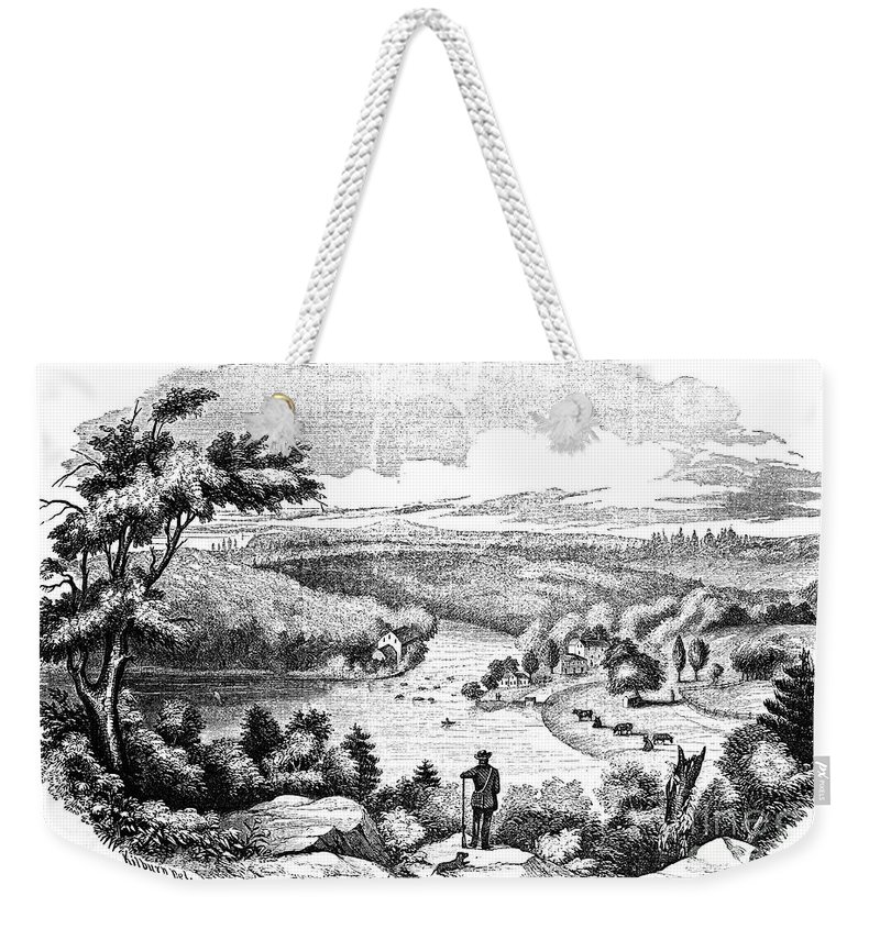 1777 Weekender Tote Bag featuring the photograph Brandywine Battlefield by Granger
