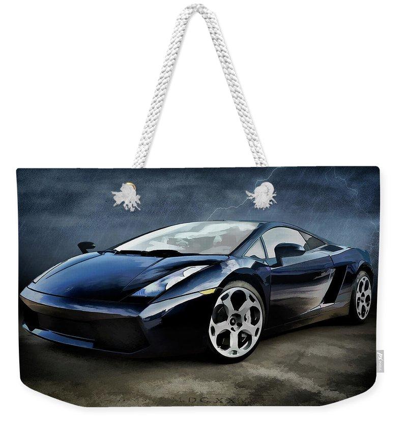 Supercars Weekender Tote Bags