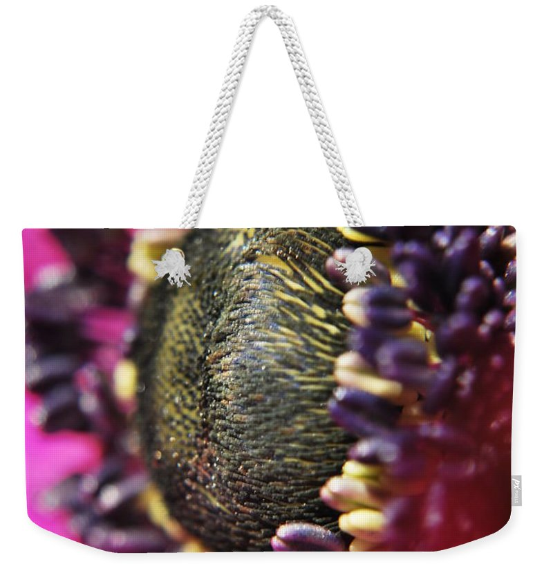 Yhun Suarez Weekender Tote Bag featuring the photograph Bulb Flower by Yhun Suarez
