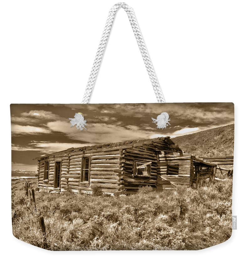 House Weekender Tote Bag featuring the photograph Cabin Fever by Shane Bechler