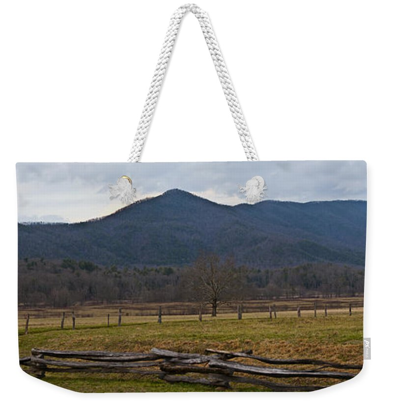 Cade Weekender Tote Bag featuring the photograph Cade's Cove - Smoky Mountain National Park by Christopher Gaston