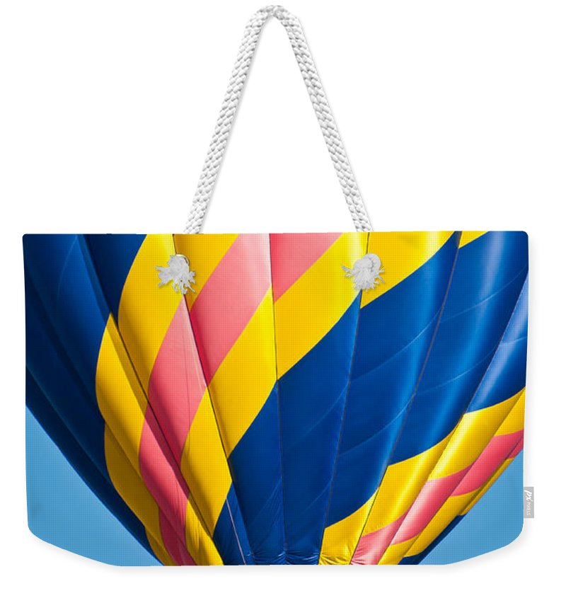 Hot Weekender Tote Bag featuring the photograph Candy Cane by Colleen Coccia