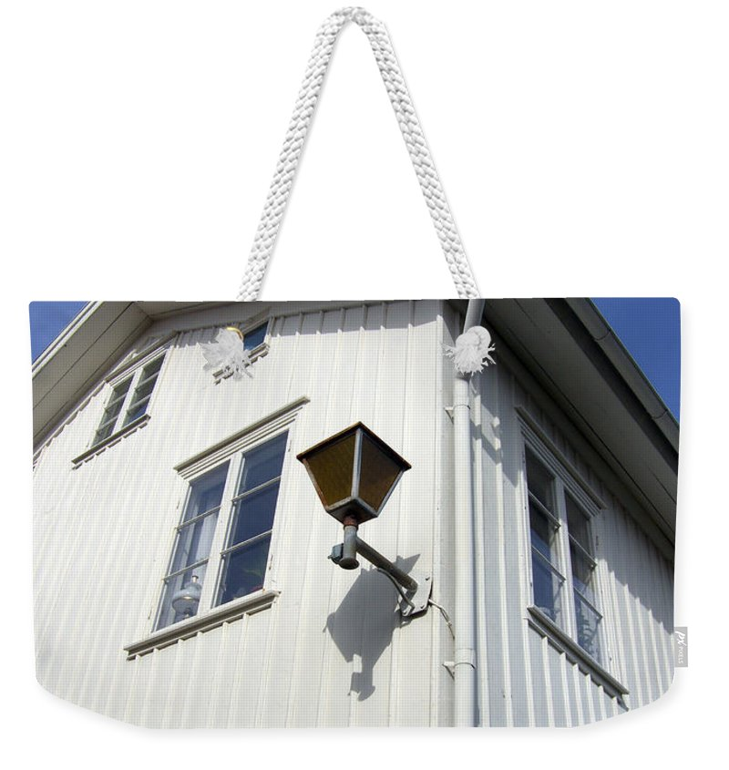 House Weekender Tote Bag featuring the photograph Captain's House by Are Lund