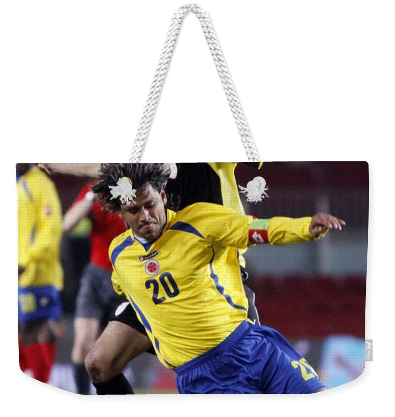 Carlos Weekender Tote Bag featuring the photograph Carlos Busquets 3 by Agusti Pardo Rossello