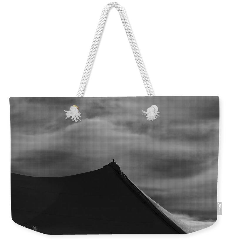 Carnival Weekender Tote Bag featuring the photograph Carnival Tent by Bob Orsillo