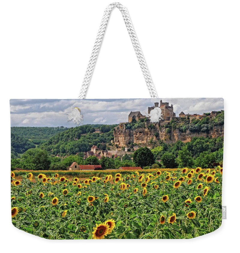Castle Weekender Tote Bag featuring the photograph Castle In Dordogne Region France by Dave Mills