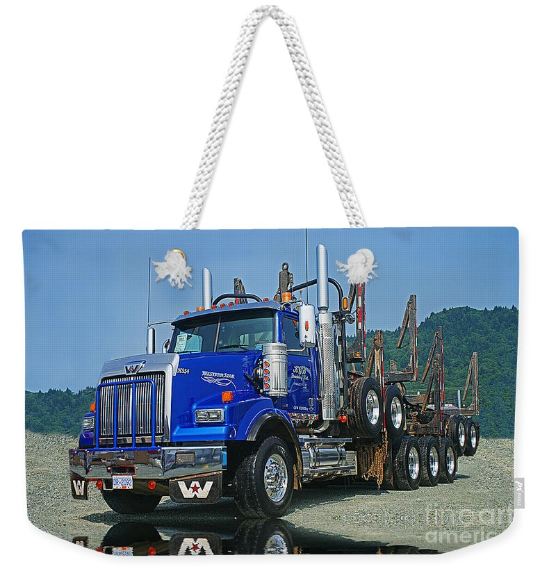 Trucks Weekender Tote Bag featuring the photograph Catr0315-12 by Randy Harris