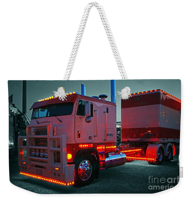 Trucks Weekender Tote Bag featuring the photograph Catr0430-12 by Randy Harris