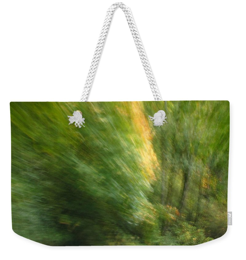 Abstract Landscape Weekender Tote Bag featuring the photograph Caught Away by Tikvah's Hope