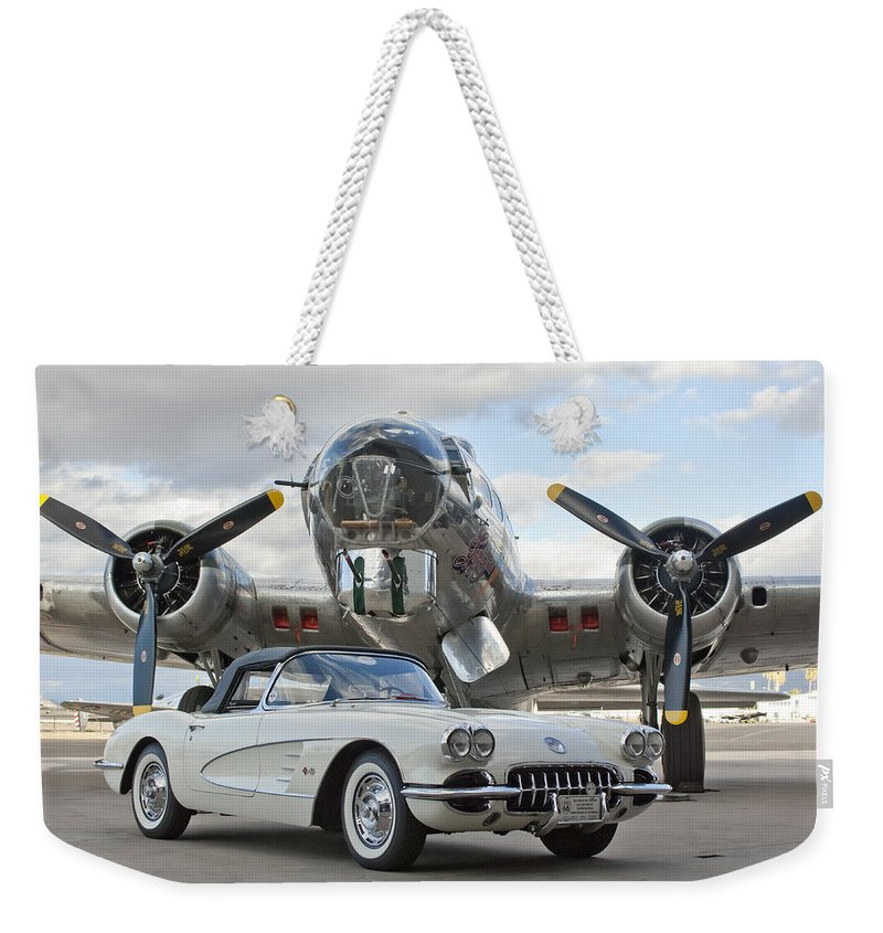 Weekender Tote Bag featuring the photograph Cc 10 by Jill Reger