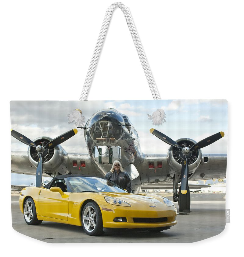 Weekender Tote Bag featuring the photograph Cc 12 by Jill Reger