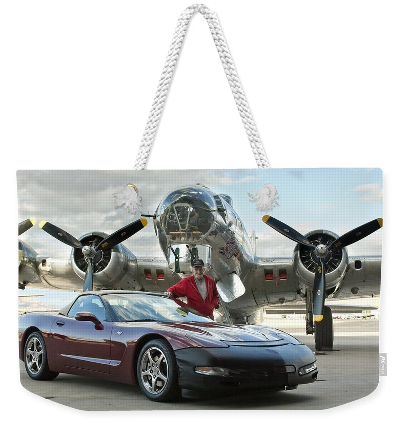 Weekender Tote Bag featuring the photograph Cc 14 by Jill Reger
