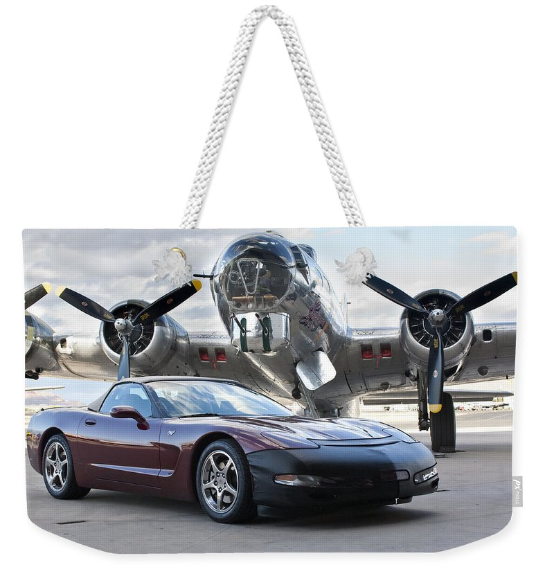Weekender Tote Bag featuring the photograph Cc 15 by Jill Reger