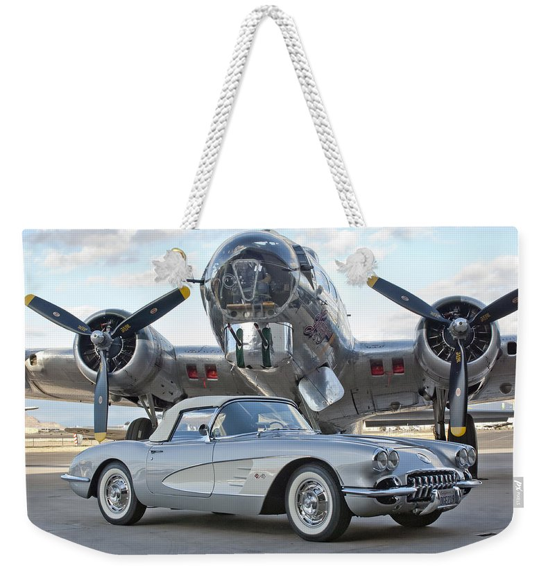 Weekender Tote Bag featuring the photograph Cc 17 by Jill Reger