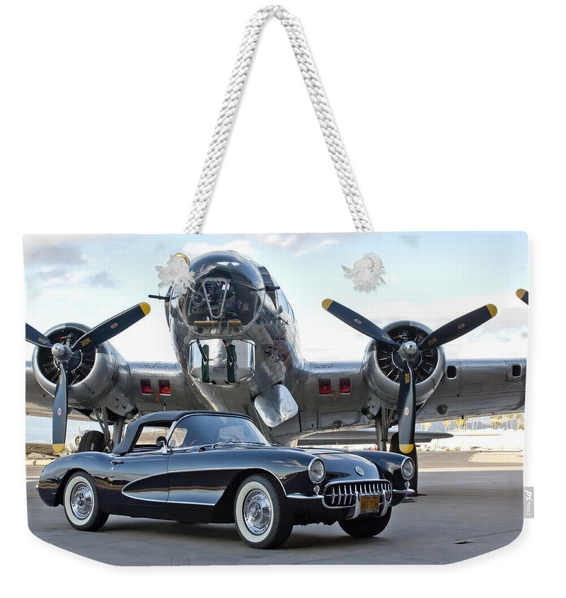 Weekender Tote Bag featuring the photograph Cc 19 by Jill Reger