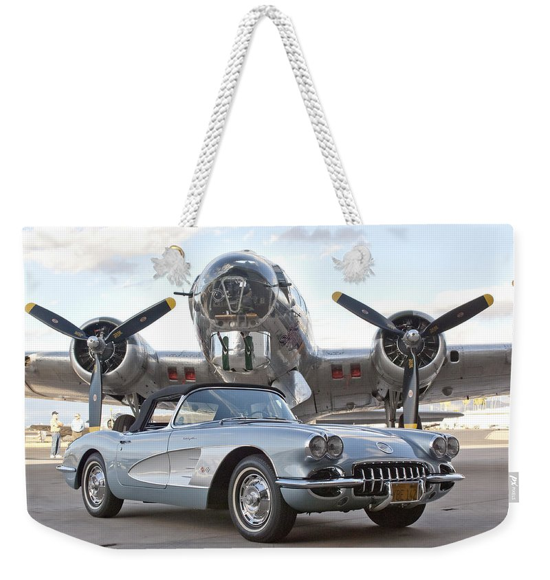 Weekender Tote Bag featuring the photograph Cc 21 by Jill Reger