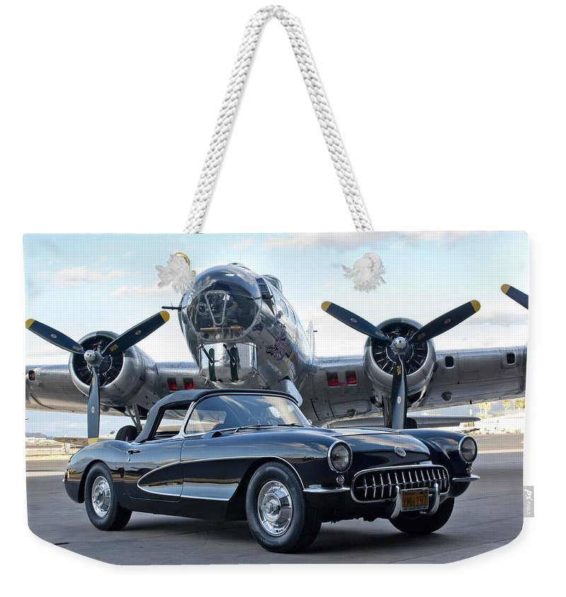 Weekender Tote Bag featuring the photograph Cc 23 by Jill Reger