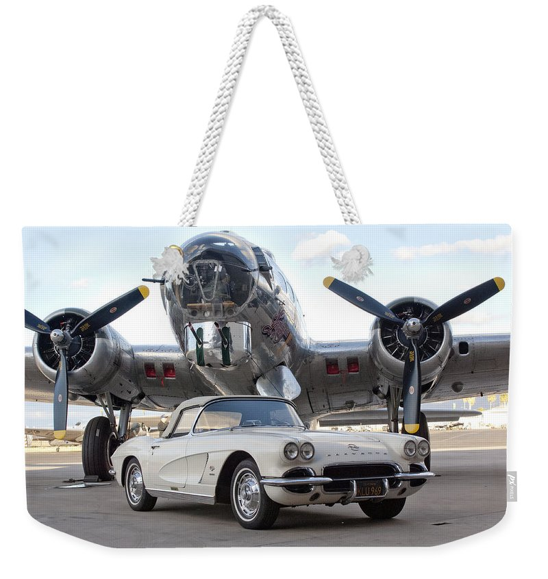 Weekender Tote Bag featuring the photograph Cc 25 by Jill Reger