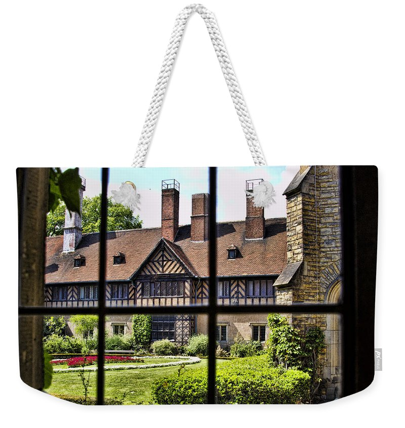 Cecilienhof Palace Berlin Germany Weekender Tote Bag featuring the photograph Cecilienhof Palace by Jon Berghoff