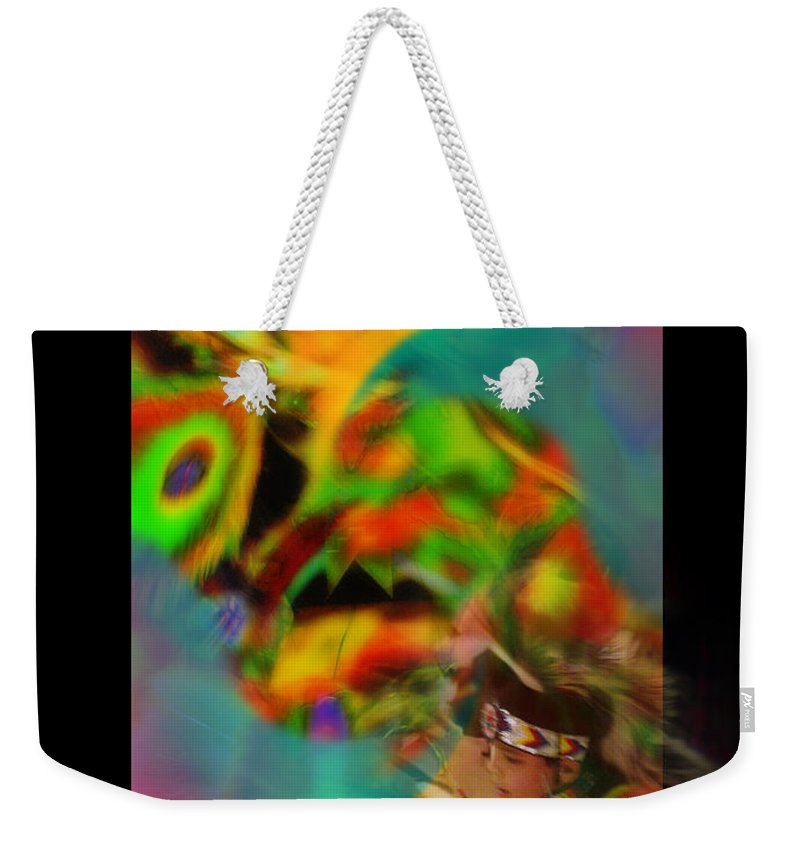 Photography Weekender Tote Bag featuring the photograph Celebration Of Spirit by Vicki Pelham