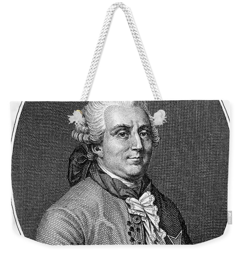 18th Century Weekender Tote Bag featuring the photograph Charles De Vergennes by Granger