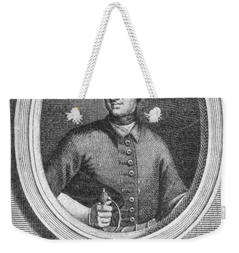 18th Century Weekender Tote Bag featuring the photograph Charles Xii Of Sweden by Granger