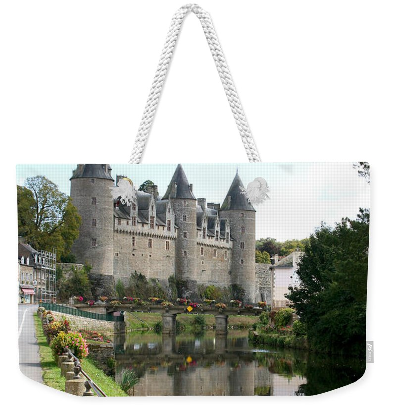 France Weekender Tote Bag featuring the photograph Chateau De Josselin by Diana Haronis