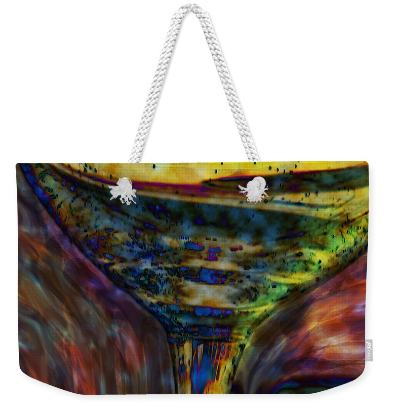 Glass Weekender Tote Bag featuring the photograph Cheers by Ian MacDonald